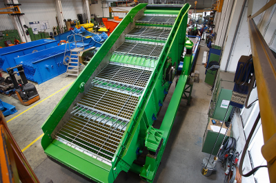 Variomat Double Deck Waste Screen photo